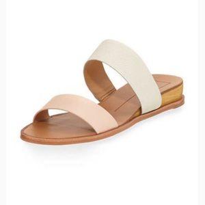 Dolce Vita Snakeskin Wedge Sandal